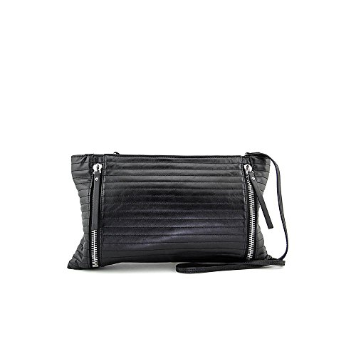 Vince Camuto Baily Leather Zipper Clutch
