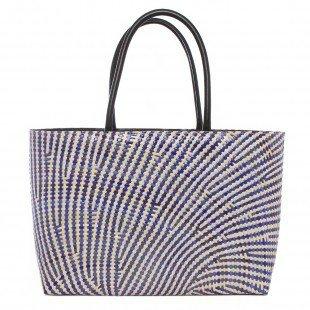 Jay Michaels Flordeliza Woven Sabutan Tote Handbag