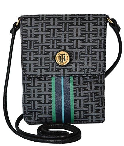 Tommy Hilfiger Signature Crossbody Messenger Bag Handbag Purse Cross Body