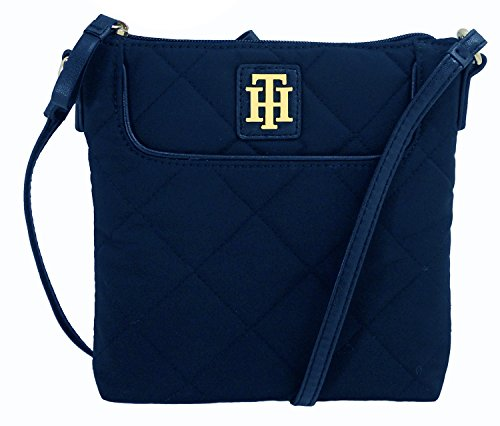 Tommy Hilfiger Women's/Girl's Xbody/Crossbody Handbag, Quilted Navy
