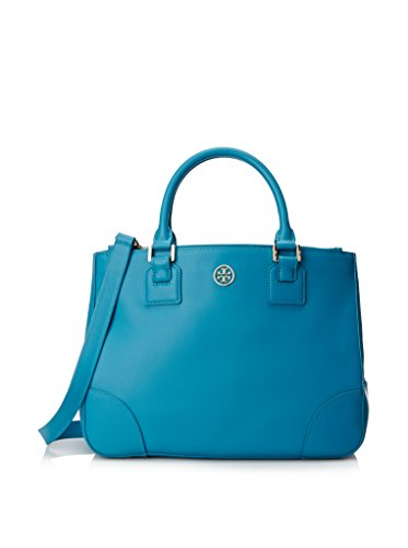 Tory Burch Robinson Double Zip Tote Large (Electric Eel)