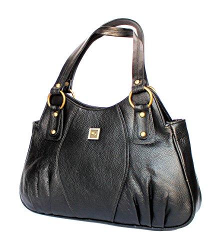 Wenz Branded Designer Genuine Pure Leather Womens Handbag Shoulder Bag
