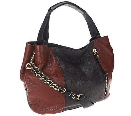 Oryany Bethanie Shoulder Bag Chestnut Multi Leather