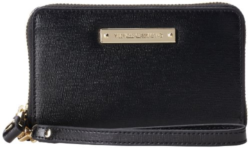 Vince Camuto Vivi Indexer Cell Phone Case,Black,One Size