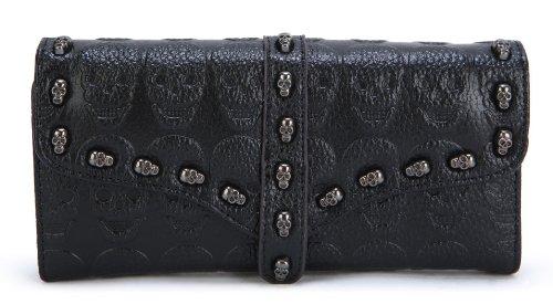 Scarleton Skull Accent Wallet H3372