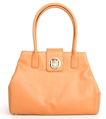 Kate Spade Chrystie Street Large Catalina Saddle Leather Handbag