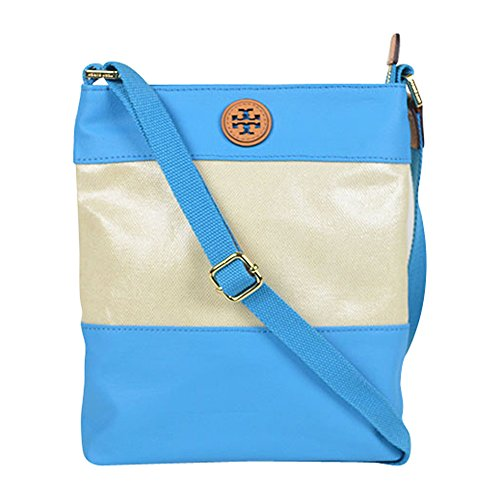 Tory Burch Pierson Coated Canvas Swingpack