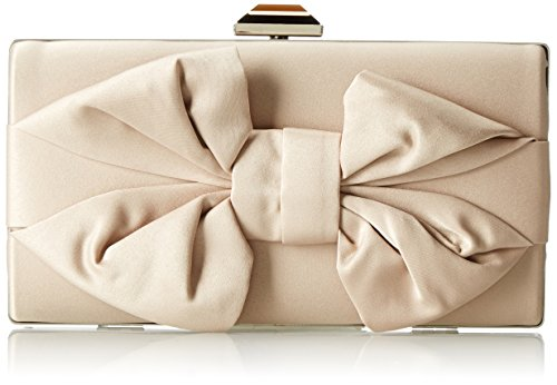 Jessica McClintock Boxy Bow Minaudiere Evening Bag