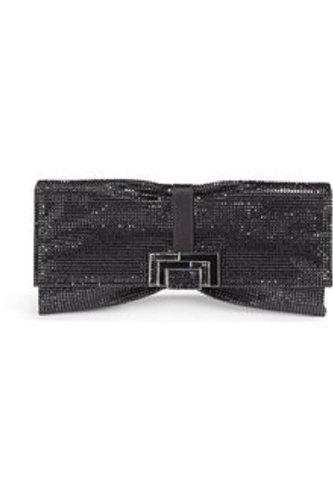 NEW Judith Leiber Austrian Crystal Nora Clutch – Black-Retail $3995