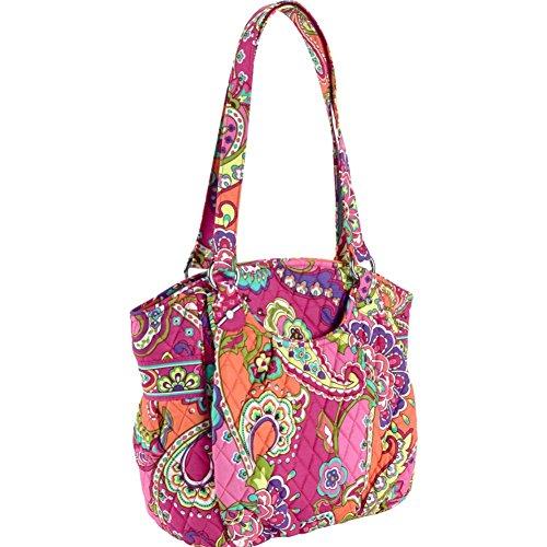Vera Bradley Glenna Shoulder Bag (Pink Swirls)