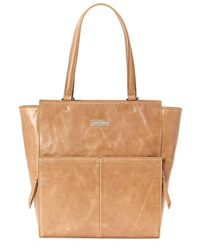 Cole Haan Marian Leather Tote Shoulder Bag, Wheat, One Size