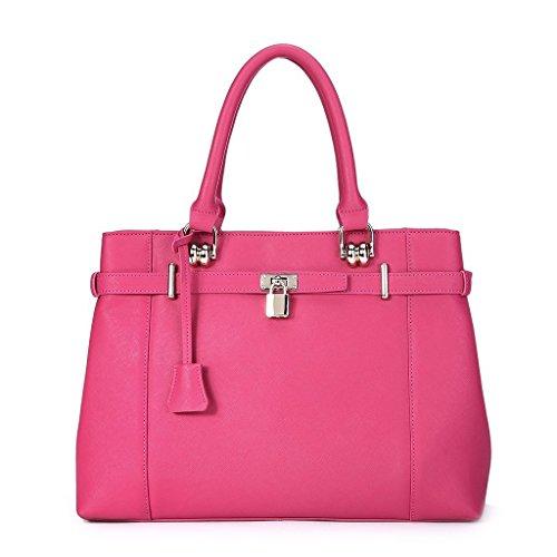 IUHA Leather Designer inspired Large Tote handbag
