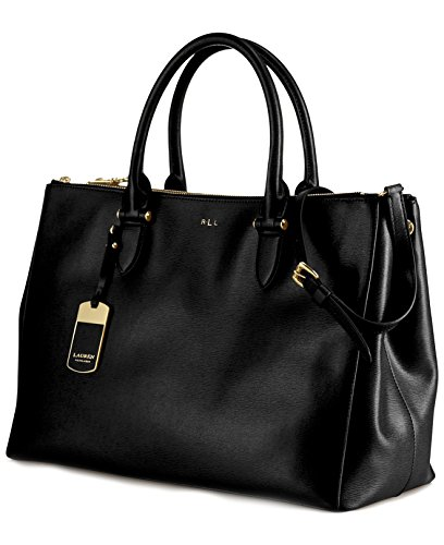 Ralph Lauren Newbury Double-Zip Satchel