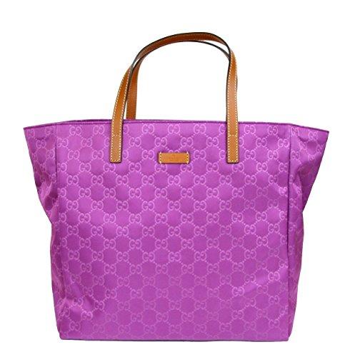 Gucci Purple Guccissima Nylon Tote Handbag 282439/5567