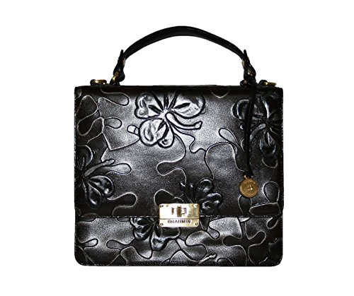 Brahmin Cecelia Brown Umbria Shoulder Bag L61716bw