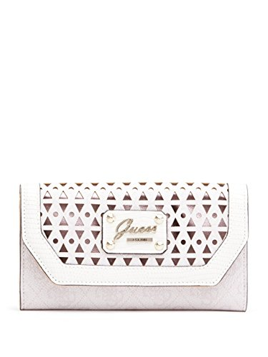 GUESS Women's Park Lane Shine Slim Clutch