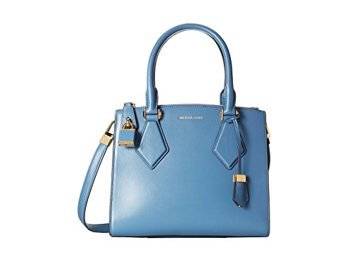 Michael Kors Collection Small Casey Satchel; Cornflower Blue