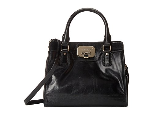 Cole Haan Carrington Small Tote Top Handle Bag, Black, One Size