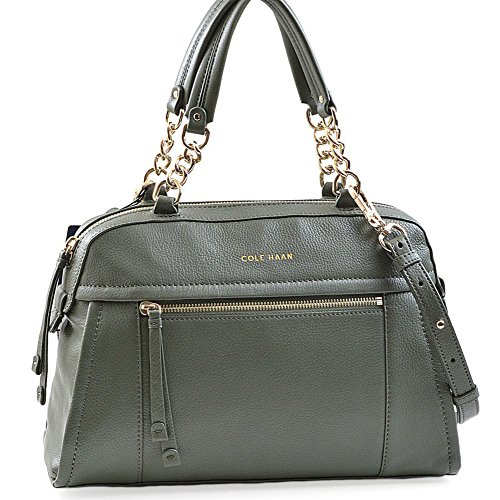 COLE HAAN LONDYN CONVERTIBLE DOME SATCHEL STRAP SHOULDER HANDBAG $300