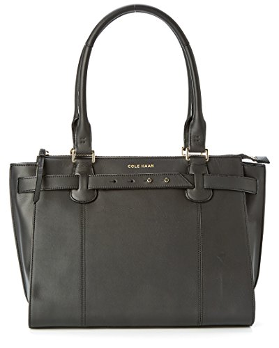 Cole Haan Cameron Leather Large Satchel, Black