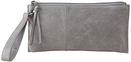 Hobo Handbags Vinatge Leather Vida Clutch – Cloud