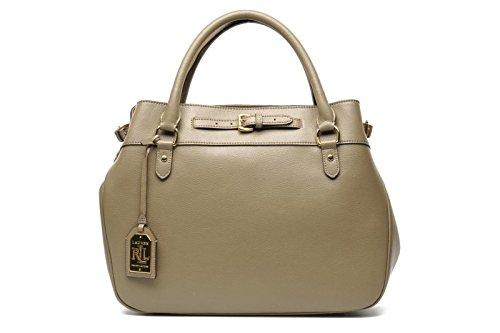 Lauren Ralph Lauren Top Handle Taupe Handbag
