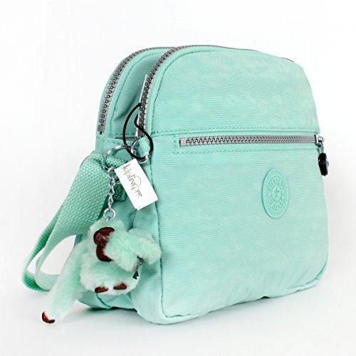 Kipling Keefe Shoulder Bag Crossbody Sea Foam Green