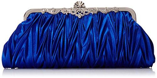Bundle Monster Womens Vintage Satin Envelope Evening Cocktail Party Handbag