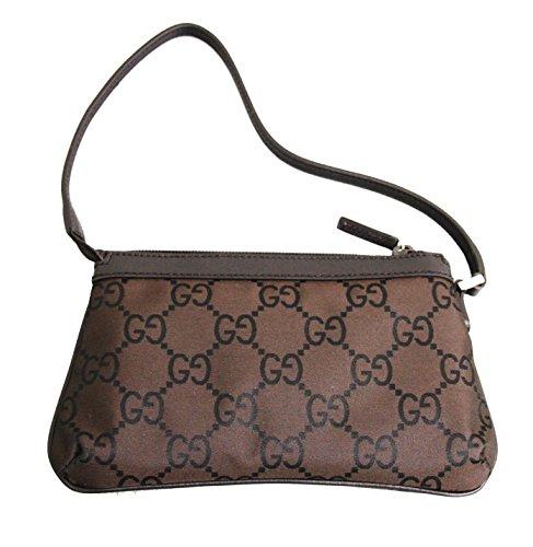 Gucci Nylon Brown Handbag Evening Bag 272381 2092