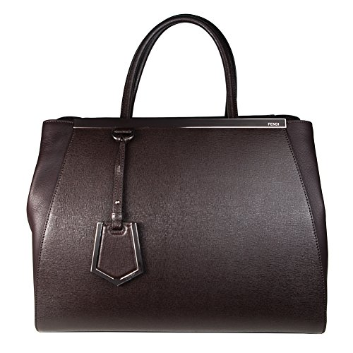 Fendi '2Jours' Leather Tote