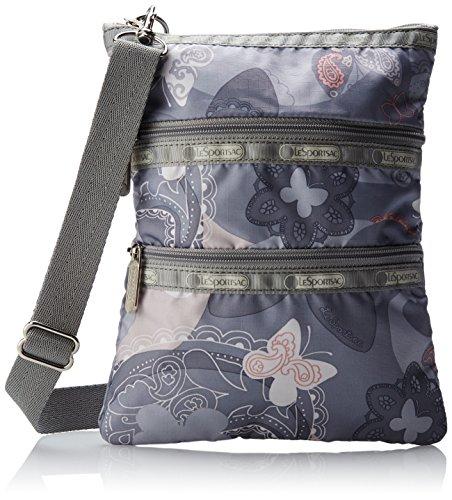 LeSportsac Kasey Cross-Body Handbag,All A Flutter,One Size