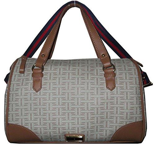 Tommy Hilfiger Handbag Box X Bag PVC Beige