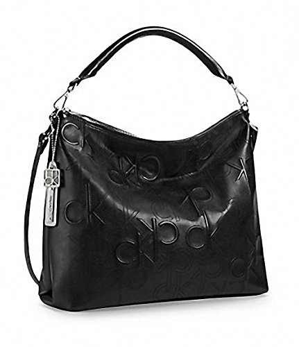 Calvin Klein Kenzie Hobo Bag Purse Handbag Black