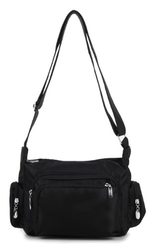 Scarleton Multi Pocket Shoulder Bag H1501