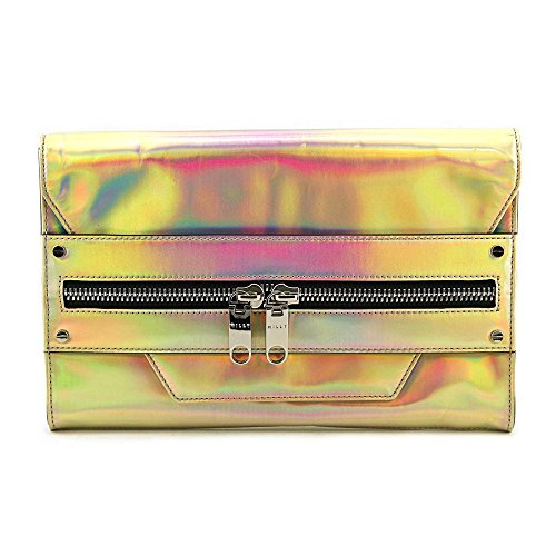 MILLY Demi Hologram Clutch