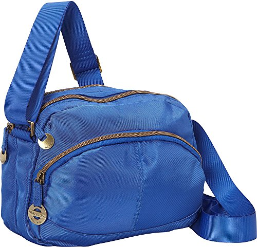 Travelon Twill Crossbody with RFID protection – Exclusive (Monaco Blue)