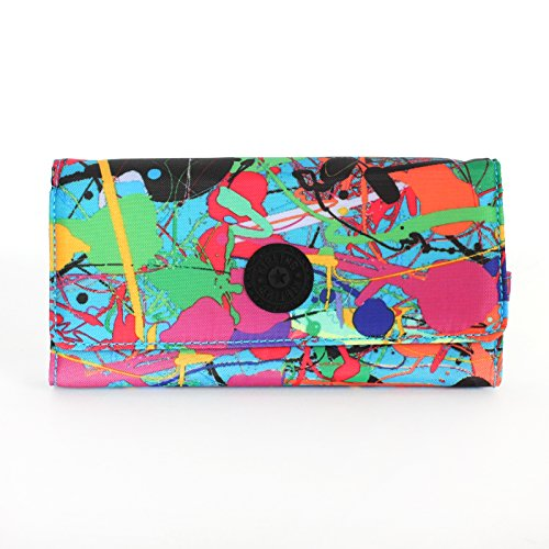 Kipling Brownie Large Wallet Art Party Printed