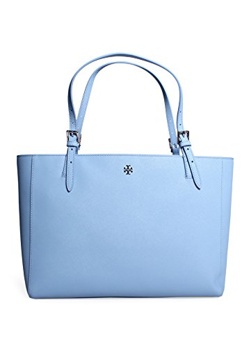 Tory Burch York Buckle Tote in Fairview Blue