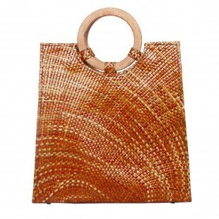 Jay Michaels Marmalade Natural Sabutan Vegan Tote Handbag