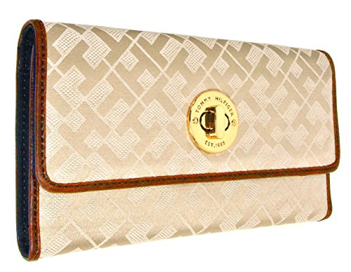 Tommy Hilfiger Womens Wallet – Pale Gold