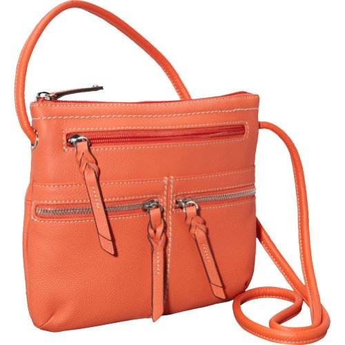 Tignanello Triple Zip Crossbody Bag (Sunset)