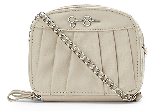 Jessica Simpson Patty Cream Crossbody Pouch Handbag