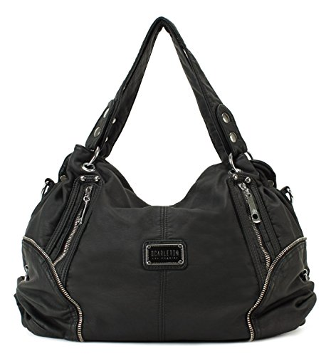 Scarleton Chic Zipper Shoulder Bag H1698