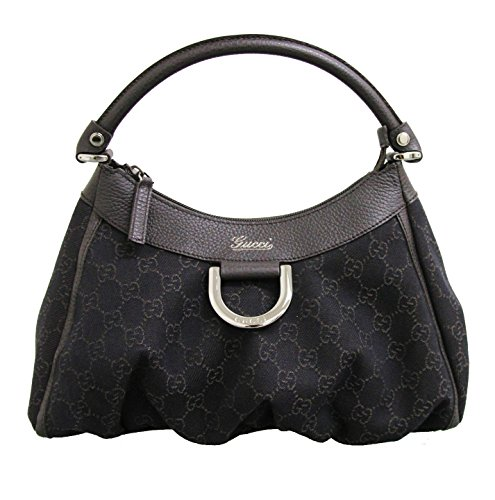 Gucci Hobo Brown Denim Bag Handbag 265692