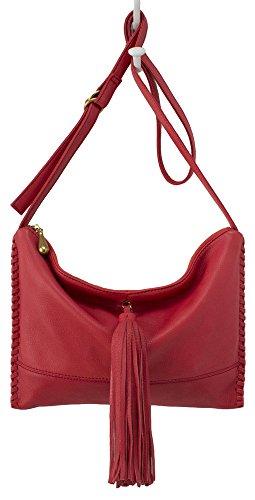 Hobo Supersoft Leather Stellar Crossbody Bag – Cardinal Red