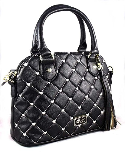 Luv Betsey by Betsey Johnson Handbag SATCHEL Black