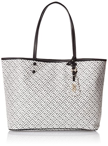 Cole Haan Signature Weave Tote, Optic White, One Size