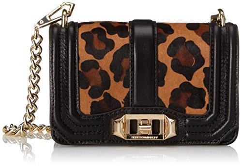 Rebecca Minkoff Mini Love Cross Body Bag, Leopard, One Size