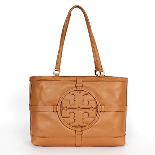Tory Burch Holly E/w Leather Tote Vintage Vachetta