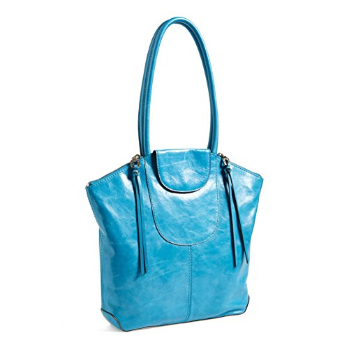 Hobo Skye Vintage Leather Tote, Cornflower